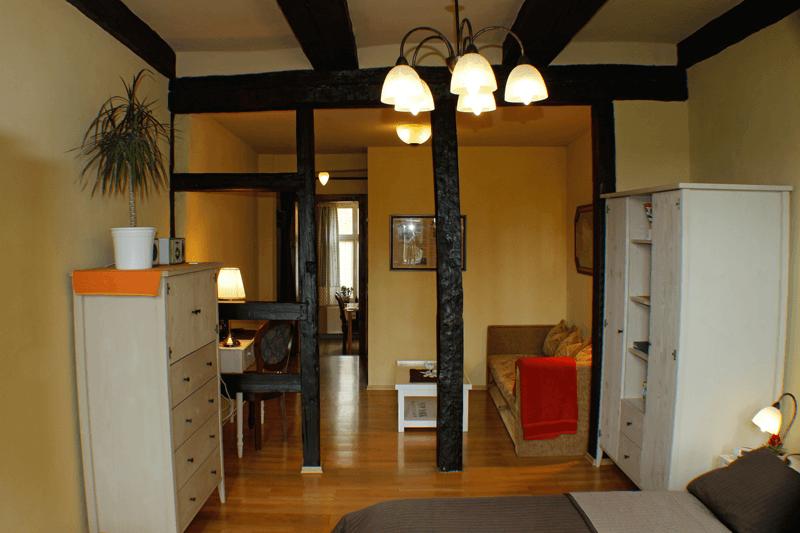 Ferienwohnungen Stobenstrasse EG Schlaf-Wohn