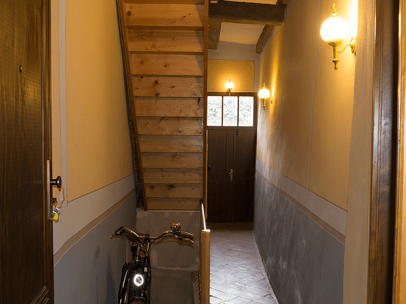 Ferienwohnungen Stobenstrasse EG Hausflur