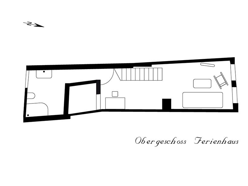 Ferienhaus Stobenstrasse Grundriss OG
