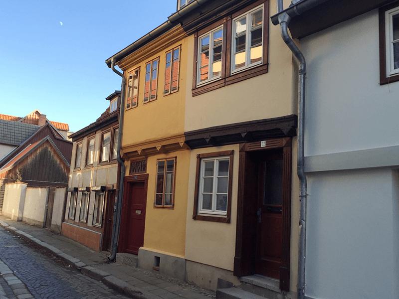 Ferienhaus Stobenstrasse Haus-Ansicht