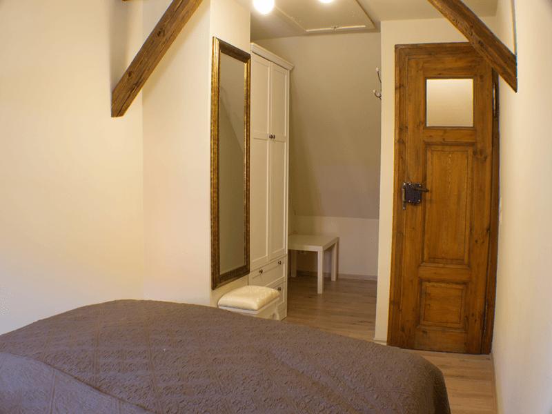 Ferienhaus Stobenstrasse Schlafzimmer
