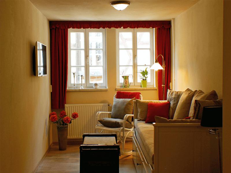Ferienhaus Stobenstrasse Wohnzimmer