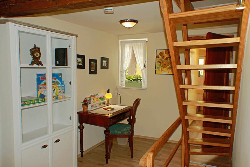 Ferienhaus Stobenstrasse Schreibtisch