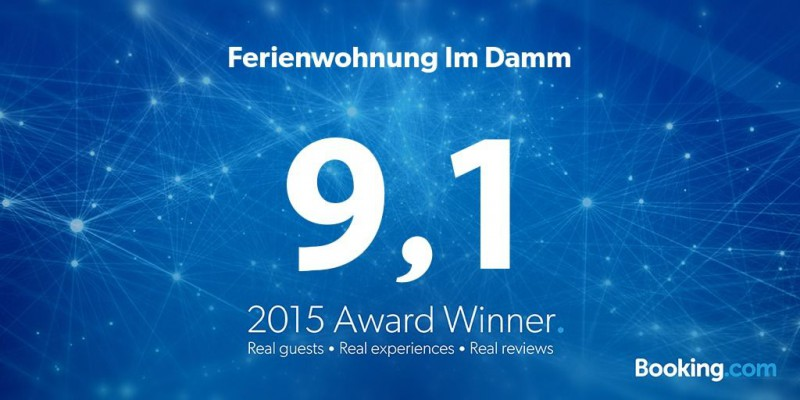 Booking.com Guest Review Award 2015