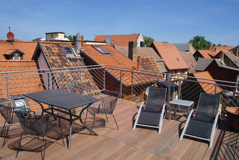 Ferienwohnung Stobenstrasse | Dachgeschoss | Dachterasse
