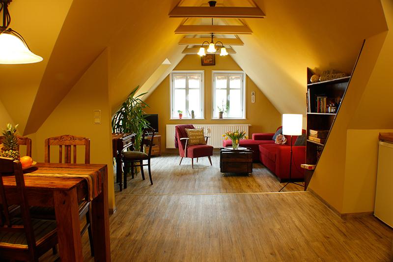 Ferienwohnung Stobenstrasse | Dachgeschoss