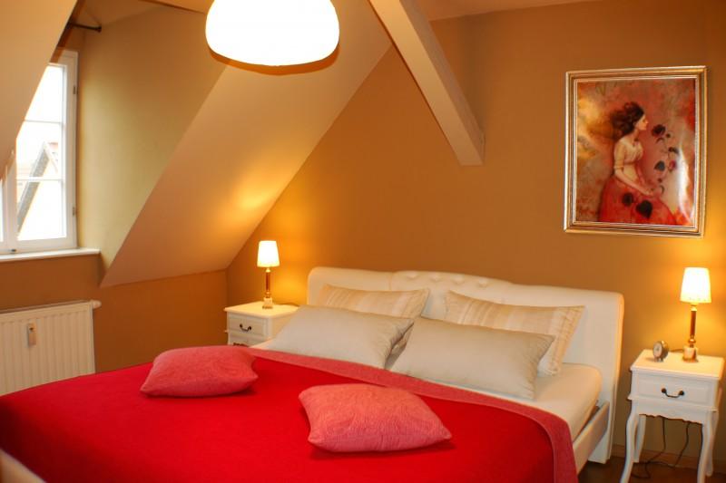 Ferienwohnung Stobenstrasse | Dachgeschoss | Schlafzimmer