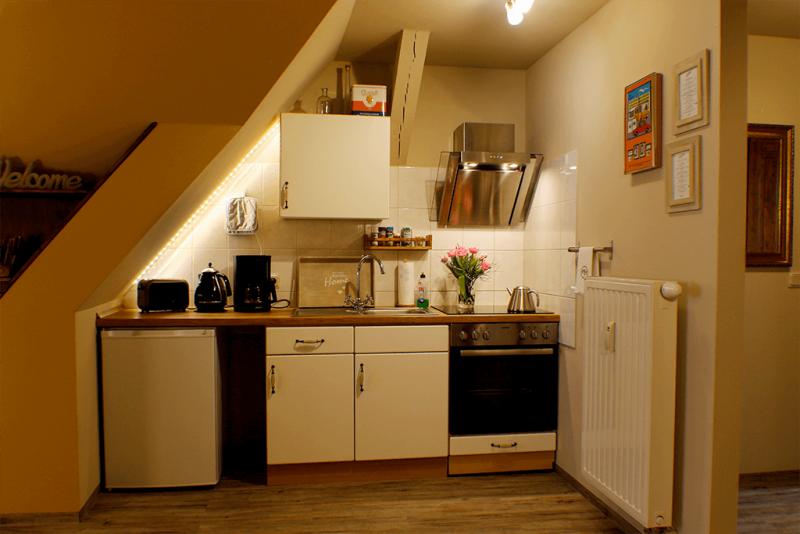 Ferienwohnung Stobenstrasse | Dachgeschoss | Kueche
