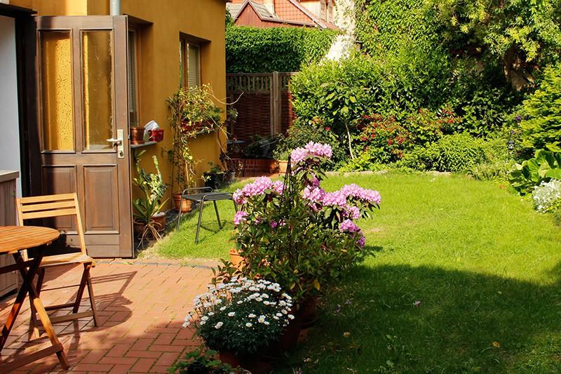 Ferienwohnungen Stobenstrasse Erdgeschoss/ Gartenterasse