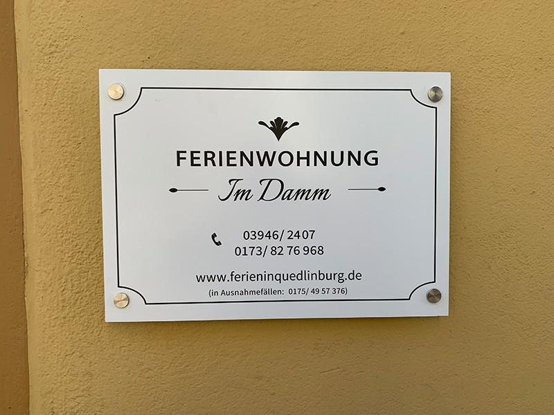 Ferienwohnung im Damm, Quedlinburg am Harz
