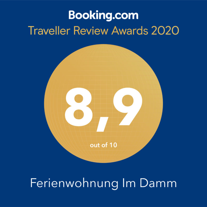 ferienwohnung Stobenstrasse Booking.com Traveller Review Awards 2020